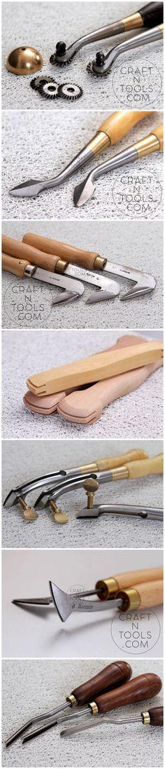 Leather craft tools Vergez Blanchard #leathercrafttools #vergezblanchard #leathertools #leatherwork