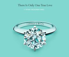 tiffanys engament ring. A girl can dream right? Haha.