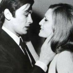 Alain Delon et Dalida