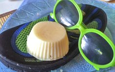 Homemade Sunscreen/Lotion Bars...just made these for Mother's Day Arts & Crafts, we didn't have any oils to add for smell and the shea butter is a little strong, but SO much better than traditional sunscreen smell. :)