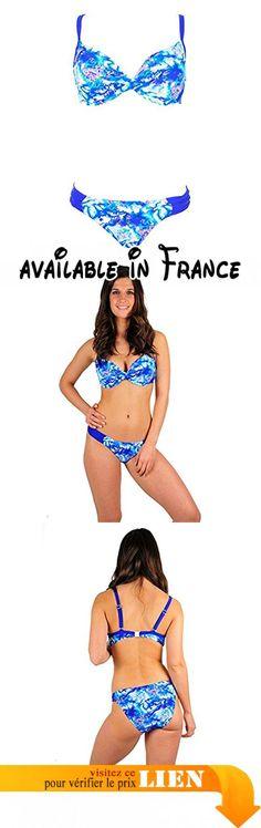 Thatch Maillot de bain pour femme Bikinis Maillots deux pièces Fashion Sexy,Black and white stitching,XXL