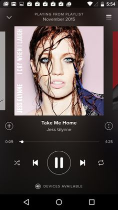 Music Player @spotify #ui #inspiration #interface #android #design