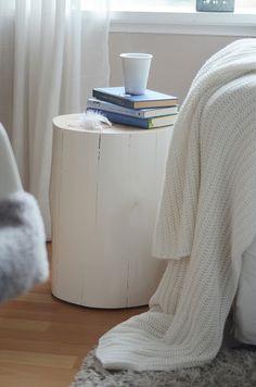 bedside table via 'homebylinn'