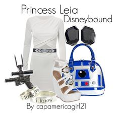 Princess Leia Disneybound by capamericagirl21 on Polyvore featuring  polyvore a52b4e3737d