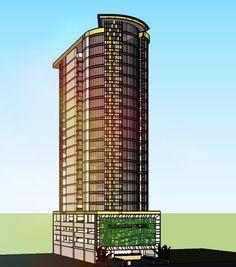 konsep - tower rental office