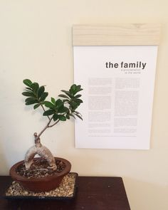 Family Proclamation Print by PenelopeSageDesign on Etsy                                                                                                                                                      More
