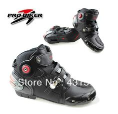 963822d4d9 Hot selling Motorcycle Boots Pro-biker SPEED Bikers Moto Racing Boots  Motocross Motorbike Shoes Black