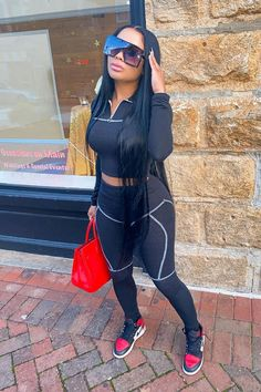 Boujee Outfits, Baddie Outfits Casual, Swag Outfits For Girls, Cute Swag Outfits, Dope Outfits, Teen Fashion Outfits, Fashion Pants, Trendy Outfits, Fall Outfits
