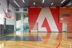 Adobe Basketball Court.