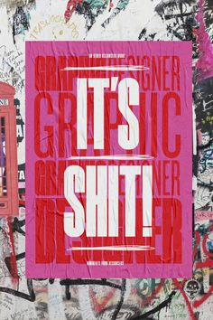 Typographic posters that look at the criticism designers face online on Inspirationde Jazz Poster, Neon Poster, City Poster, Typo Poster, Film Poster Design, Poster Art, Typographic Poster, Graphic Design Posters, Graphic Design Typography