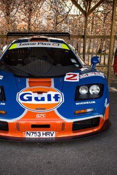 Mc Laren F1 GTR Gulf livery