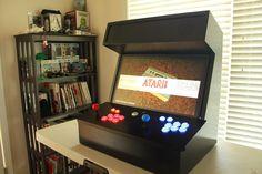 Tabletop Retropie Arcade Machine by Reddit user u/tl34tf