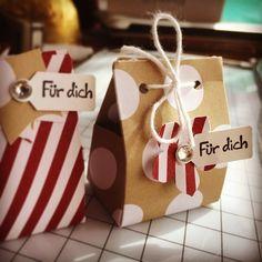 Ferrero Küsschen verpackt... mit Anleitung