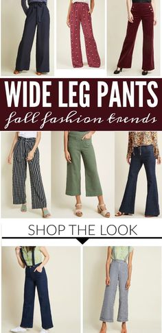 Wide-Leg Pants Fall   Winter Fashion Trends d0ade7ce014