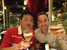 Tsuboi-san and Joe in Buenos Aires