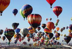 Albuquerque International Balloon Fiesta, one of the greatest shows on Earth every fall