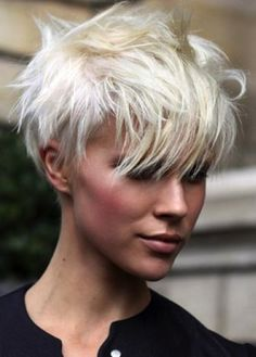 Layered Pixie Cut Short Haired Girl