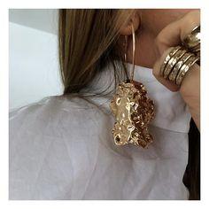 Favourite #gold#earrings ⚡
