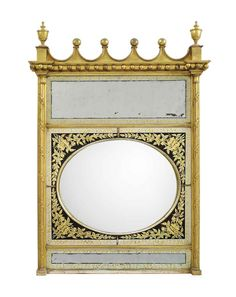 Antique mirror frame Creepy Regency Giltwood Convex Overmantel Mirror Circa 1820 The Oval Plate Within Verre Eglomisé Surround Etsy 752 Best Antique Mirrors Frame Images In 2019 Antique Mirrors