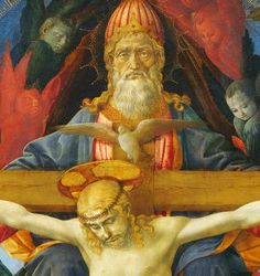 Francesco Pesellino and completed by Fra Filippo Lippi and workshop - The Trinity