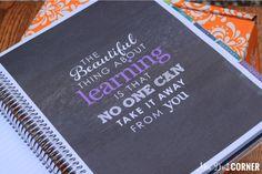 Erin Condren Lesson Planner Review