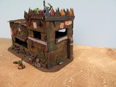 Buildings, Bunker, Fort, Orks, Terrain