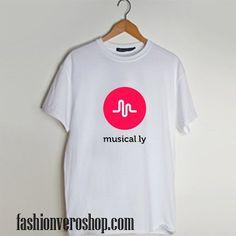 jacob sartorius musical.ly logo T shirt