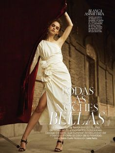 Eva Hooft for glamour spain
