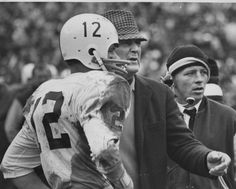 Kenny Stabler Drinking | Coach Bryant and Kenny Stabler.JPG | BAMA