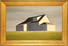 """Joan Albaugh Oil on Canvas Board """"Shelter in Place""""   July 2, 2016 Auction at Rafael Osona Auctions Nantucket, MA"""
