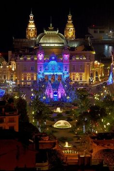 Monte Carlo Casino at Christmas, Monaco | PicsVisit
