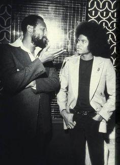 Marvin Gaye and Michael Jackson