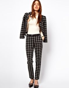 I will have this.  Check suit. #chic
