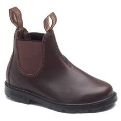 Blundstone 530 Children's Chelsea Leather Lined Ankle Boot - Walnut Brown