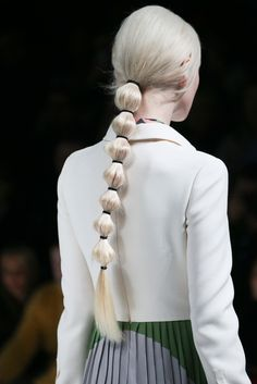 lostinfiber:  wildthicket | Hair at Valentino F/W 2014 at PFW