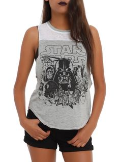 This Star Wars Muscle Top though.