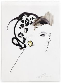 Bellezza da vendere : David Downton -High Illustration