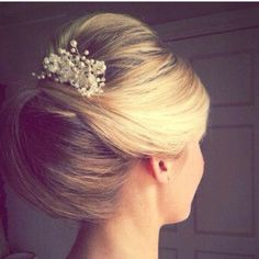 Gorgeous sophisticated updo