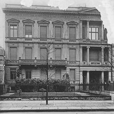 Berlin,Bellevuestraße 15 mit dem Durchgang zum Wilhelm-Gymnasium, dem späteren Volksgerichtshof , von A. Lohse, 1907-14, um 1920