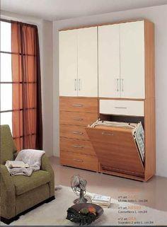 mobili colorati, pareti colorate, mobili salvaspazio, scarpiere, portascope, mobili ripostiglio, mobili piccoli, mobiletti, poco spazio