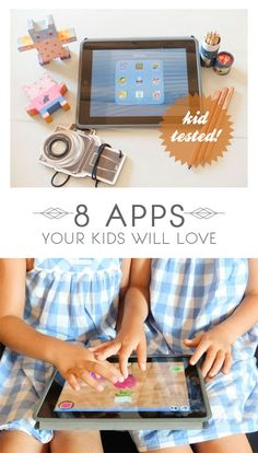 Some fun kid-tested and mama-approved apps...