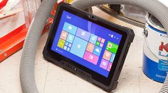 With its durable build, solid processing power, and long battery life, the Dell Latitude 12 Rugged is a capable tablet if you need to work in extreme conditions. Rugged Tablet, Latest Smartphones, Dell Latitude, Office Phone, Landline Phone, Geek Stuff, Technology, Rugs, Pictures