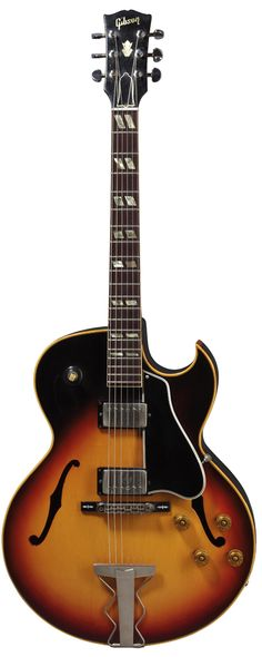 """Steve Howe of the band """"YES"""" played this Gibson on all YES recordings in the early years. Guitar Logo, Jazz Guitar, Music Guitar, Guitar Amp, Cool Guitar, Playing Guitar, Guitar Vector, Guitar Chords, Gibson Electric Guitar"""