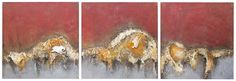 15. Obsolete (triptych) - Symon Sayce Triptych, My Arts, Artsy, Abstract, Painting, Summary, Paintings, Draw, Drawings