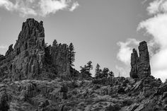 Another B&W from last weekend in Poudre Canyon. Can you find the climbers? #johnlagphoto #climbing #igfortcollins #photoshoot #coloradolive #getoutside