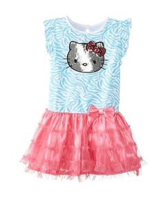 55% OFF Hello Kitty Girl's Sequin Dress