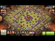 Clash of Clans TH9 vs TH10 Giant, Wizard & Witch (GiWiWi) Clan War 3 Star Attack ⋆ Clash of Clans 3 Stars Clan Wars