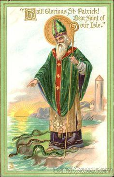 ☼ Seasons ☼ Spring ☼ Hail Glorious St. Patrick Dear Saint Of Our Isle St. Patrick's Day