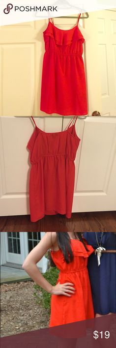 Forever 21 red dress Casual and comfy to throw on! Dress up with wedges or dress down with a jean jacket  Forever 21 Dresses Mini