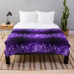 Bed & Bath, Music Notes, Deep Purple, Colorful Backgrounds, Duvet Covers, Glow, Blanket, Printed, Awesome